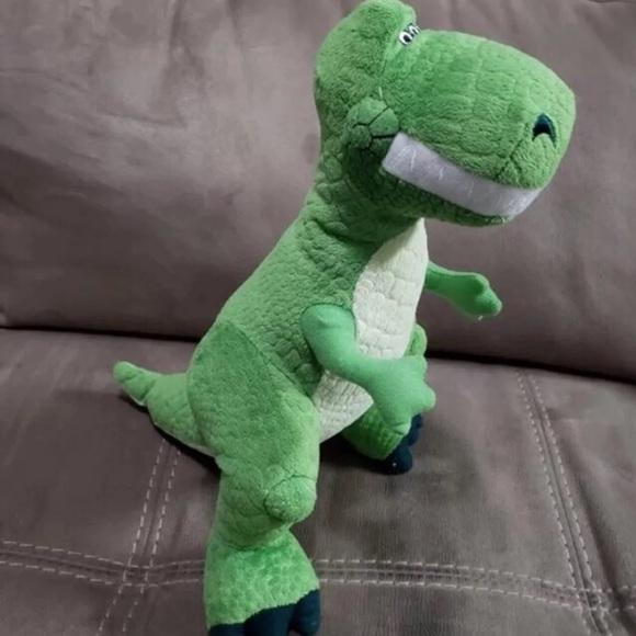 Disney Other - FREE* Rex DISNEY Toy Story Original Dinosaur Plush